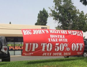 Retail Signs banner outdoor promotional vinyl 300x232
