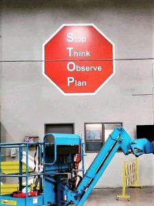 Custom warehouse signs